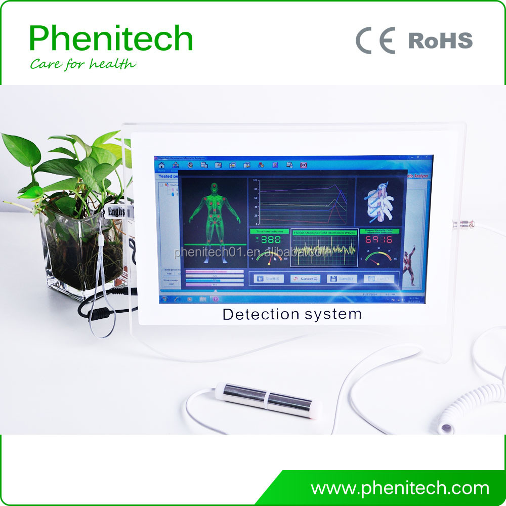 Touch screen quantum resonance magnetic analyzer body health machine high quality