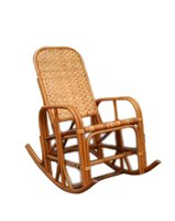 Bamboo Rocking Arm Chair, AC-002