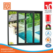 Quality Assurance Anodized Sliding Glass Window