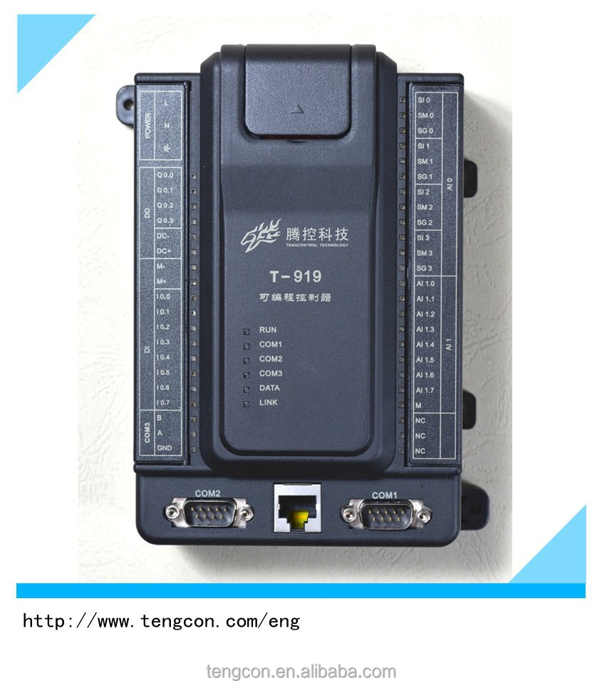 PLC TENGCON T-919 plc with ethernet controller