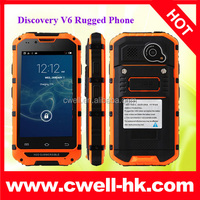 Rugged Phone Discovery V6 4inch IPS Screen MTK6572 Android 4.2.2 Smartphone With 4 Colors