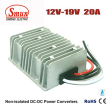 Waterproof IP68 12VDC to 19VDC 20A DC-DC Boost 380W Converter For Car