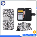 mobile phone cover diamond cover case phone wallet style leather case for iphone 7 plus