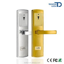 Cheap Smart Security Electronic Card Lock Hotel Keyless hotel lock rfid with Free Software