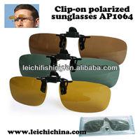 Clip on Polarized ray- ban fishing sunglass