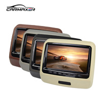 Headrest dvd player back seat tv for car with HD/IR/FM/wireless game top quality car dvd player