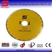 Diamond saw for hard marble blade