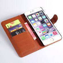 Fashion Wallet Flip PU Leather Case for Apple iPhone 6 6s 4.7 Plus 5.5 With Card Slot Photo Frame Stand Cover