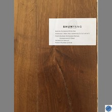 Cheap factory price European white Oak engineered wood fooring-SY7018