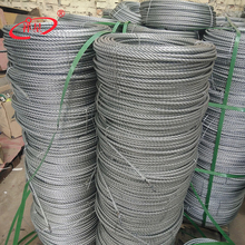 Hot dip galvanized steel cable wire for gondola
