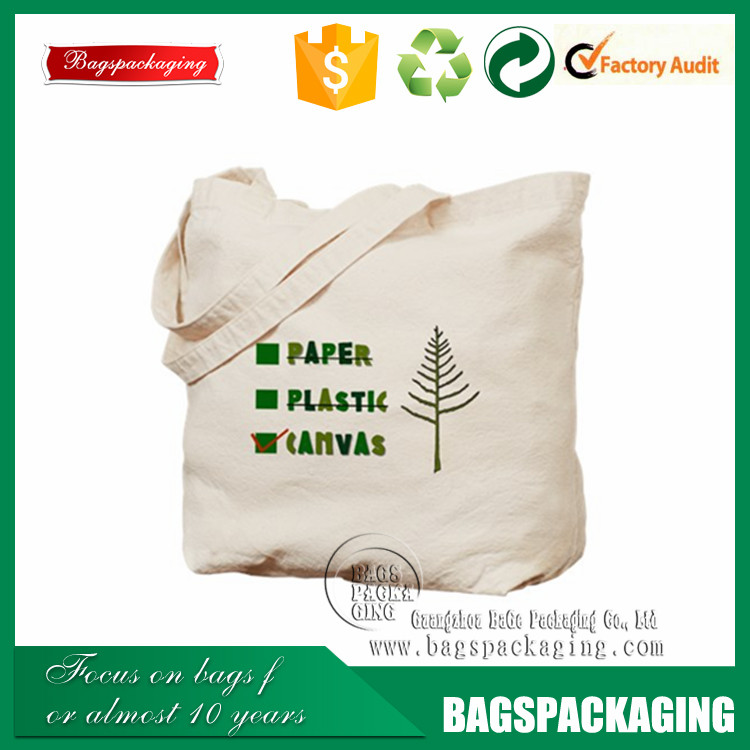 100% cotton customized logo canvas tote bags bulk
