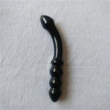 Black obsidian stone massage wands ,huge safe crystal sexy adult toys dildos