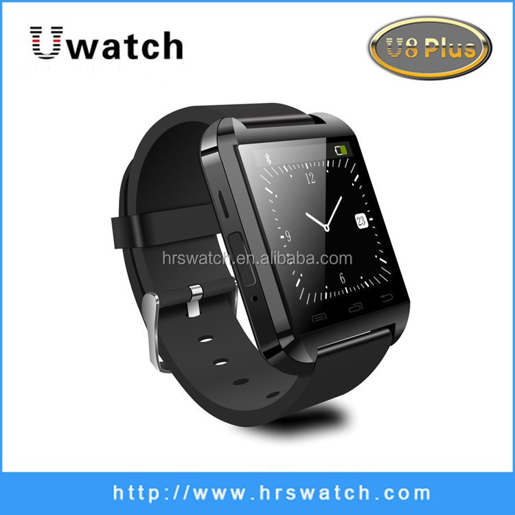 hourly alarm watch reloj inteligente bluetooth U8 Flip Design and TFT Type U8 plus Smart Watch android 4 0 alarm 24kupi watch
