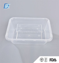 Good Quality Transparent Food Grade Custom Plastic Disposable Snack Food Container