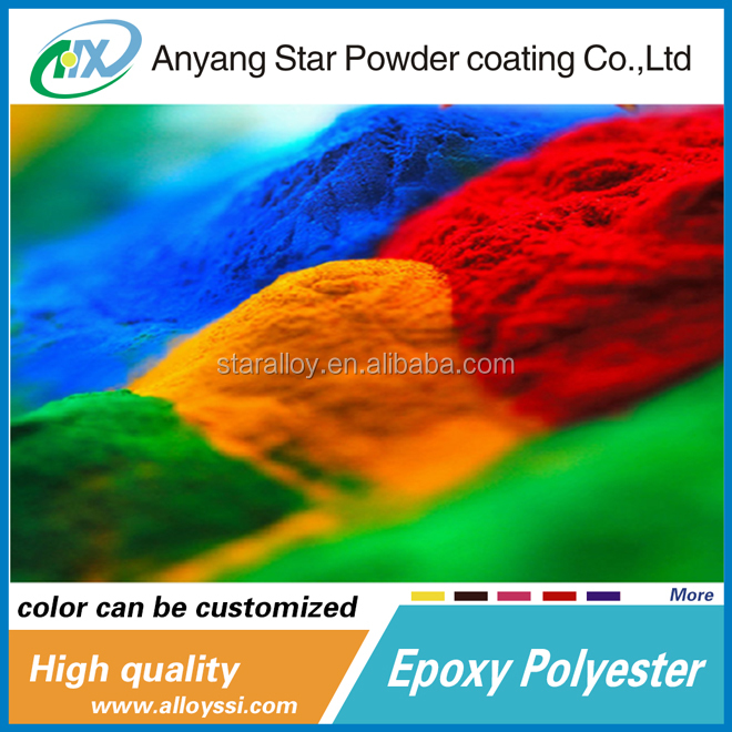 Best Products Anyang Star Supplierral nanotechnology epoxy powder coating Powder Processing