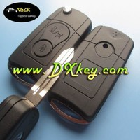 Modified 3 buttons remote cover keys for ssangyong key shell key ssangyong