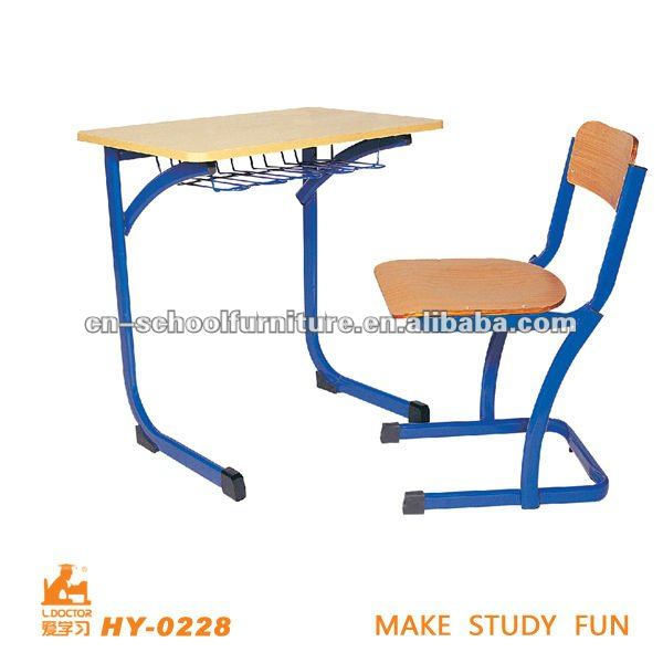 Plywood seat and back educational furniture