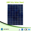 36v 150w solar panel for wholesale poly solar panels poly 150w solar panel