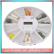 automatic pill dispenser SHJ021 high quality portable plastic pillbox