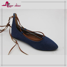 KAS16-384 2016 fashion women dress shoes; women flat shoes; wholesale chian women shoes