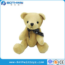 High quality teddy bear with movable arms and legs