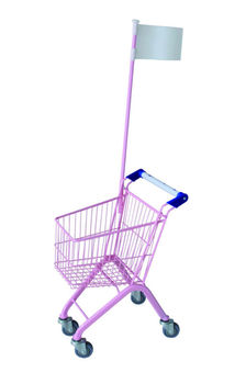 colorful small metal kids tesco toy shopping trolley in 20L