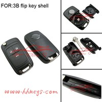 Free sample VAUXHALL Insignia Astra flip remote key for Opel 3 button flip key