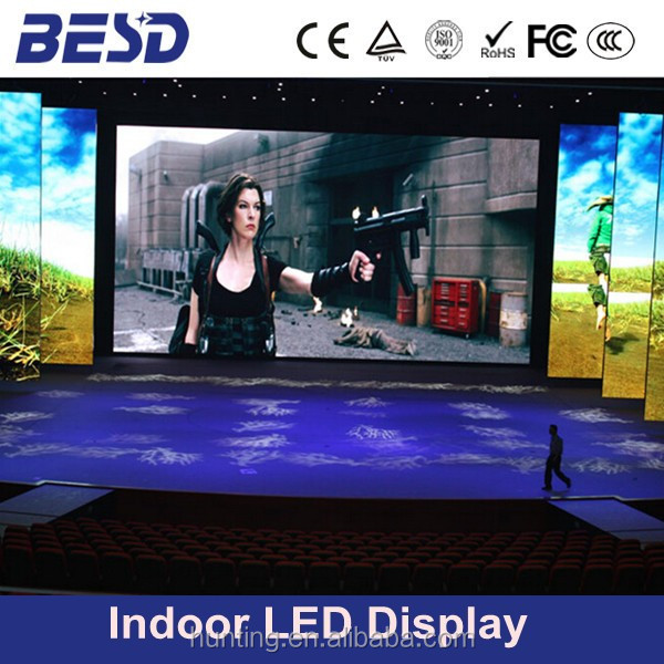 Super image quality p2.5 p3 p4 p5 led screen rental, led video wall price
