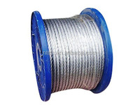 7*7 wire rope, PVC coated steel cable ,galvanized steel wire rope
