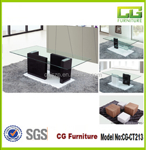 animal glass coffee shop tables and chairs CG-CT213