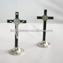 4 inches Enamel Standing Crucifix cross