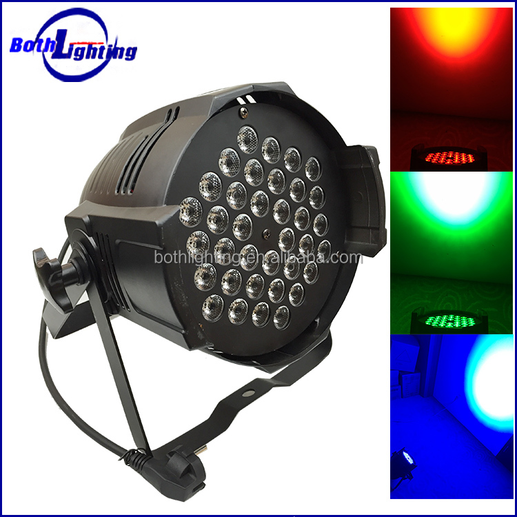 Whoesale cheap promotional lighting lamp Aluminum 36x3w RBG high power stage led par light PAR64
