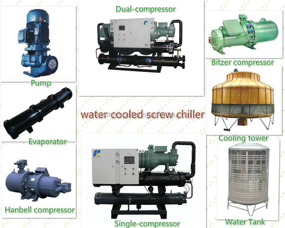 100% new 75hp water cooled water chiller 60tr