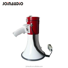 USB/SD/Mp3 Powerful Megaphone Red/White color with shoulder belt