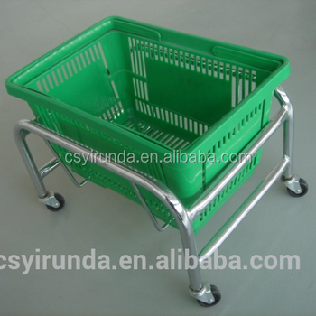 Eco-friendly high quality Shopping Basket for supermarket & mall