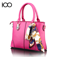 custom beautiful leather handbag tote bag for lady in guangzhou