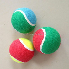 professional custom colored tennis balls wholesale sports balls