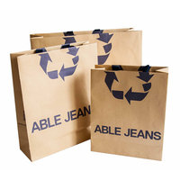 New products tote eco friendly promotional shopping bread paper bag