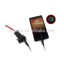 Car 2.1A Dual USB Port Charger Smartphone PDA DVR + Audio Input for Toyota VIGO