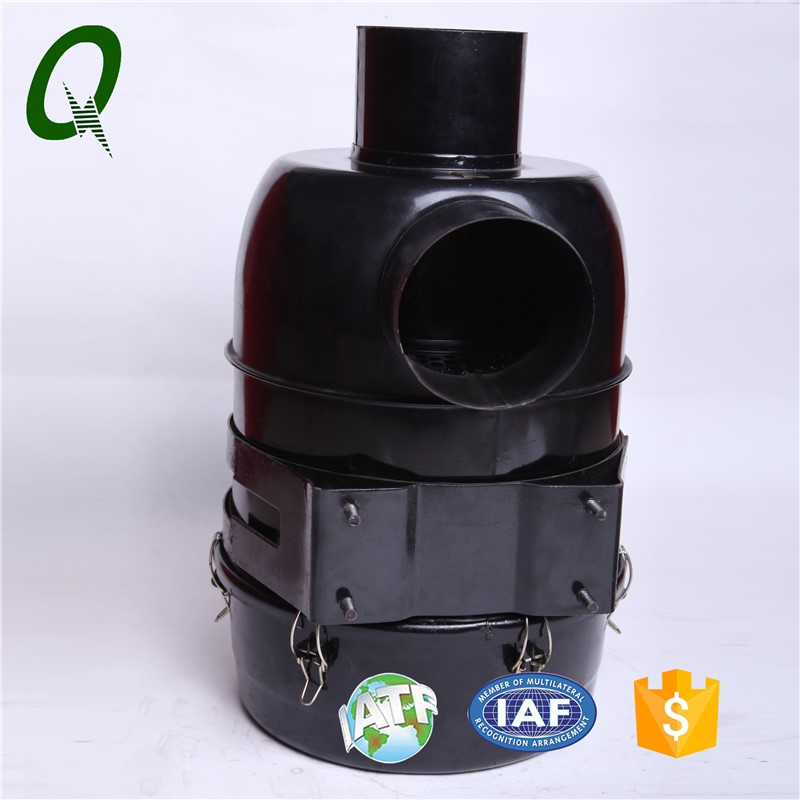 Oil bath air purifier for excavator factory price air cleaner air filter