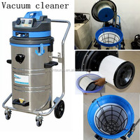 220v 1400w easy operation wet dry steam vacuum cleaner with 60L/80L