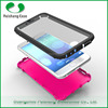 TPU PC PET 3 in 1 combo case full protective cover with sensitive front screen guard for iphone 6/6plus