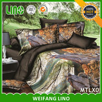3D animal leopard print 100% polyester thin bedspreads for summer tanya handicrafts jaipur