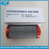 replaced 01.E60.16VG.HR.E.P hydraulic pump element pleated filter cartridge