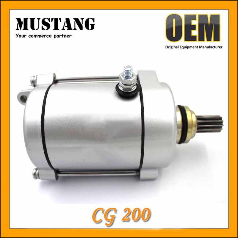 Hot Sell Motorcycle Engine Starter Motor CG200, Smoothly Start with Good Customers' Feedback!!