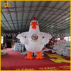 4mH Outdoor Large Inflatable Hen, Inflatable Chicken For Advertising