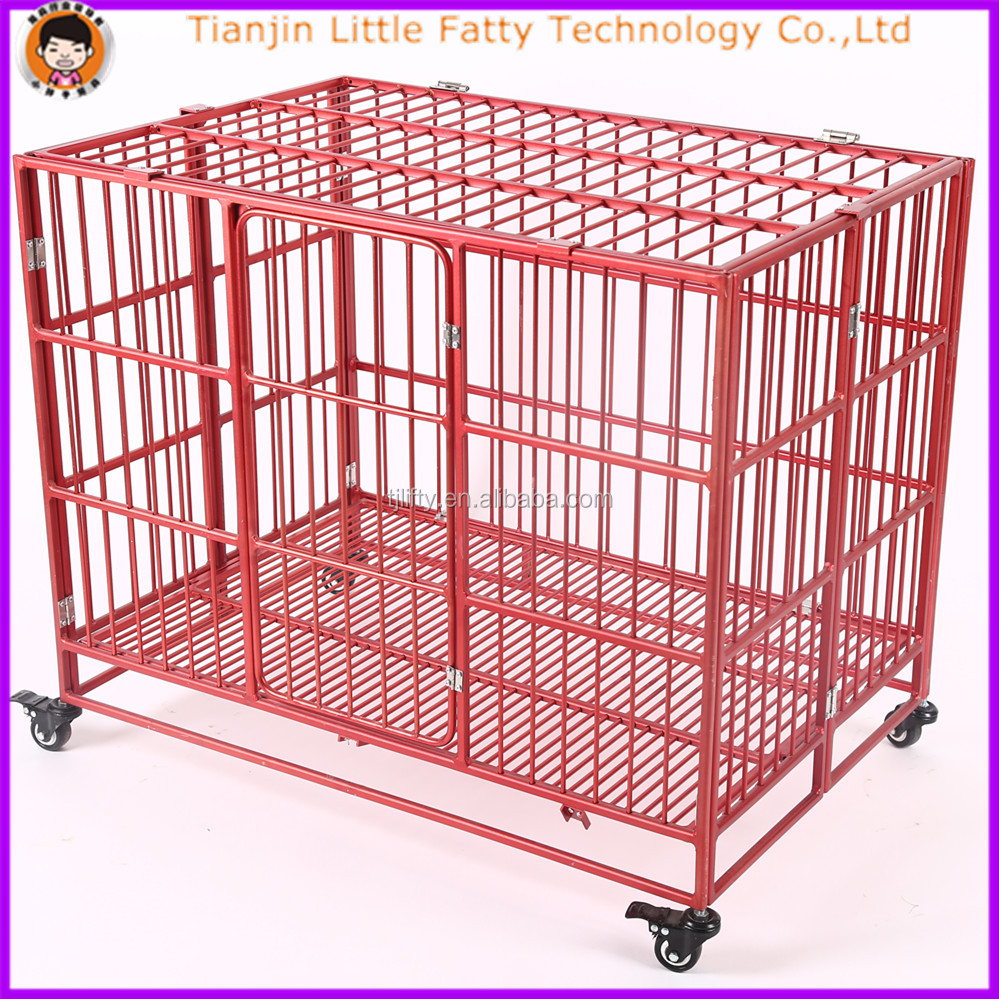 aluminum folding dog cage