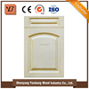 Professional factory custom newest modern PVC kitchen cabinet door designs from china