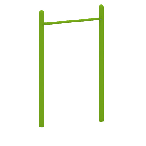 Outdoor Steel Pipe Pull-up Bar Fitness