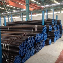 "6"" Schedule 40 ASTM A53 A106 Grade B Black Carbon Seamless Steel Pipe"
